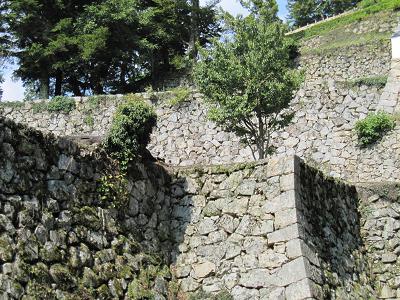 備中松山城 石垣2