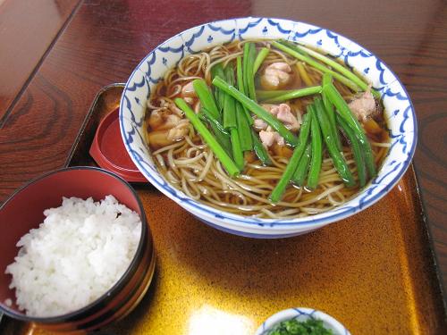 島田市のお蕎麦屋さんゆくら
